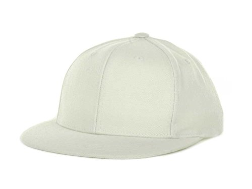 Blank White Baseball Caps (Top Of The World By Lids Youth Boy's Adjustable Snapback Blank Baseball Hat Cap (0, White))