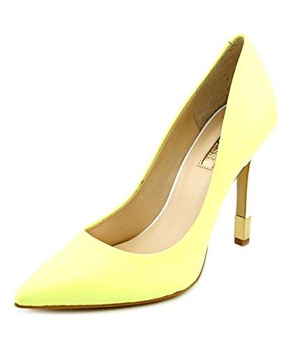 Para Outlet Mujer Leather Pre Zapatos De Yellow Vestir Guess vwUzSqxt