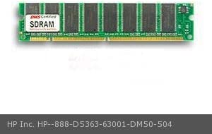 V 32 Chip D5363-63001 Brio 8434 64MB DMS Certified Memory 8X64-10 4 Clock SDRAM168 Pin DIMM DMS Data Memory Systems Replacement for HP Inc