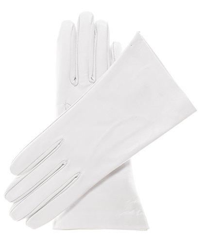 Fratelli Orsini Women's Undyed Unlined Lambskin Leather Gloves