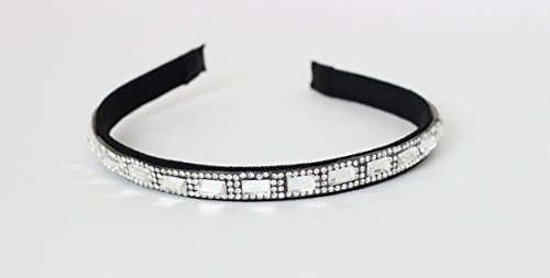 Great Gatsby / Flapper Inspired Fashion Headband / Hairband with Faux Jewels & Rhinestones