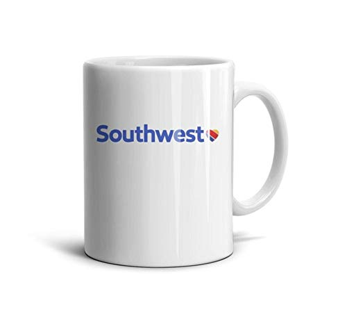 (Ruslin Southwest Airlines Logo White Ceramic Mugs Coffee Mug Or Tea Mug)