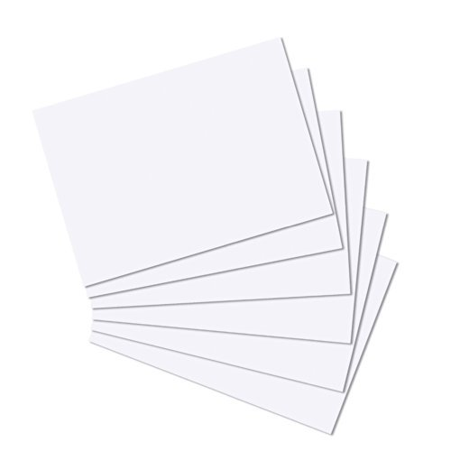 Sheets 50 300gsm (White A6 Card 300gsm 50 Sheets)
