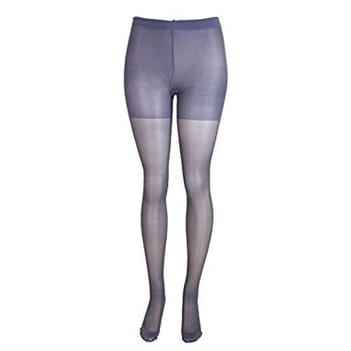 (Lissele Women's Plus Size Full Support Sheer Pantyhose (Pack of 2) (Off-Black, 5x))
