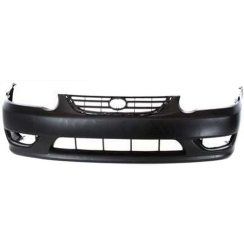 Perfect Fit Group T010306P – Corolla Front Bumper Cover, Primed