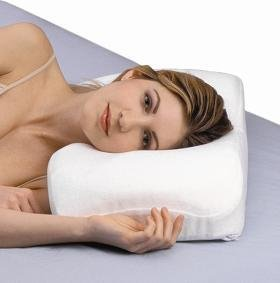 Side Sleepright Sleeping Splintek Pillow - SleepRight Side Sleeping Memory Foam Pillow - Size: 24' x 12