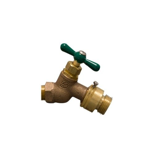 PROFLO PF109FBFPC 3/4'' Hose Bibb with Backflow Preventer - Not for Potable Water Use by ProFlo