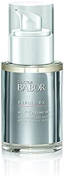 DOCTOR BABOR Refine RX AHA 10 10 Peeling Gel, Salicylic Acid Regenerating Exfoliant for Blemish Prone Skin, Mi
