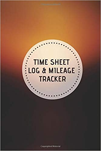time sheet log mileage tracker vehicle mileage work shift hours