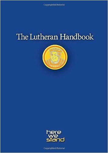 The lutheran handbook kristofer skrade james satter the lutheran handbook kristofer skrade james satter 9780806651798 amazon books fandeluxe Image collections