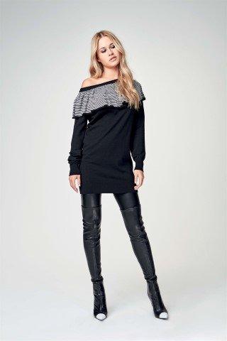 MAXI MAGLIA DENNY ROSE ART 64DR15014  Amazon.it  Abbigliamento 7ec6d7317b4