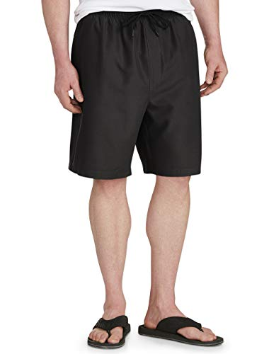 Amazon Essentials Men's Big & Tall Quick-Dry Swim Trunk fit by DXL, Black, 3XL (Suits With Shorts)