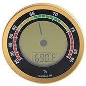 Cigar Oasis Caliber 4R Gold Hygrometer