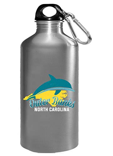 Sea Animal Gifts - Outer Banks North Carolina - Dolphin Water Bottle