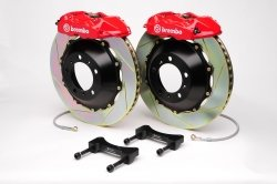 Brembo 2P2.8023A2 GT Big Brake Kit Rear Slotted Infiniti G35 03-06