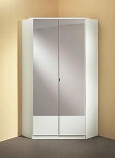 corner bedroom furniture. Germanica™ IMAGE 2 Door Mirrored Corner Wardrobe In WHITE Colour MADE IN GERMANY Bedroom Furniture R