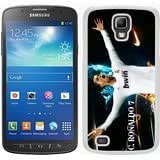 Soccer Player Cristiano Ronaldo 23 White Samsung Galaxy S4 Active i9295 Phone Case,Fashion Look