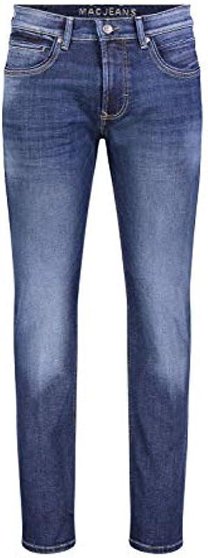 MAC męskie dżinsy Arne Pipe Denim Flex 1973l051700 H663: Odzież