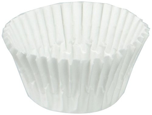A World of Deals Best Quality Small Size White Cupcake Paper - Baking Cup - 1 Pack SMALL Cup Liners 500 Pcs