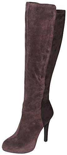 Jessica Simpson Womens Avalona Dress Boot Fudgie 8.5 M US