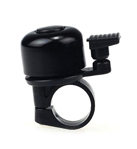 um Mini Bike Bells Suitable for Folding Bike MTB Bicycle Horn Loud Sound Black (A) ()