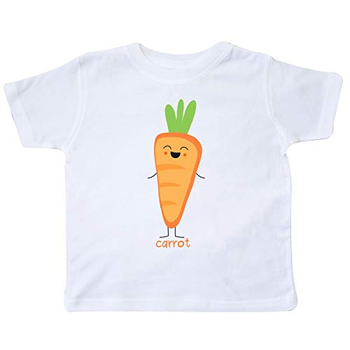 inktastic - Carrot Costume Toddler T-Shirt 4T White 31d10 -