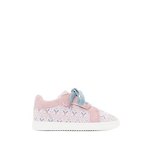 La Redoute Collections Big Girls Printed Trainers Pink Size 25 (7.5 to 8) by La Redoute