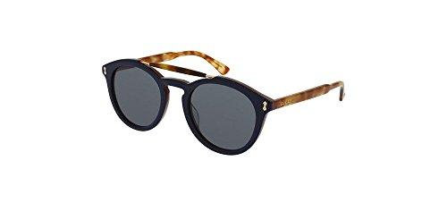 Gucci sunglasses GG 0124 S- 003 BLUE / - Frame Gucci Round Sunglasses Acetate