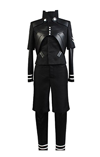 Ya-cos Halloween Men's Tokyo Ghoul Ken Kaneki Jumpsuit Battle Uniform Cosplay Costume (XXX-Large) ()