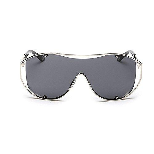 Color Protección SunglassesMAN Aire Yxsd Tamaño al Gran Marco Libre Hombres Gray de Gafas de Metal Sol Gray para Deportiva Conducción de para UV URr7UgA