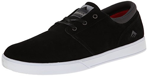 Scarpe Uomo Emerica Black White The da da Skateboard Figueroa White AwpEq7