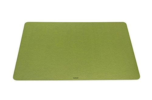 Maruse Desk Pad/Mat 25.6'' x 15.8'' - Made in Italy (Black)