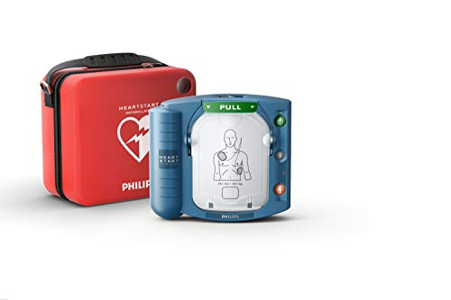Philips HeartStart OnSite AED Defibrillator with Standard Carry Case ()