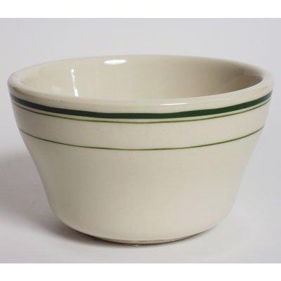 Tuxton TGB-004 Green Bay 8 Oz. Eggshell Bouillon Cup - 36 / CS Tuxton China
