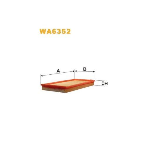 Wix Filter WA6352 Air Filter: