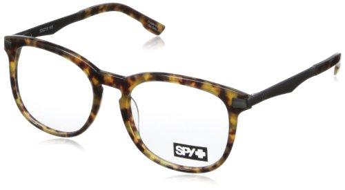 Glass Camden (Spy Camden Rectangular Eyeglasses,Desert Tort,53 mm)