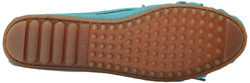 Turquoise Suede Moc Kilty da donna Mocassino Minnetonka Suede xqwYSpf5