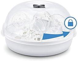 Tigex Esterilizador de botellas para microondas: Amazon.es: Bebé