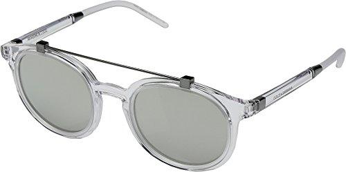 Silver light Grey 0dg6116 Unisex Crystal Gabbana Mirror Dolce amp; p8xzB4