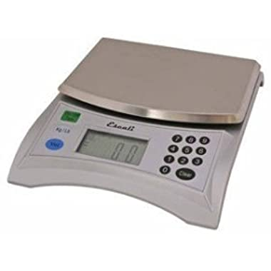 Escali V136 Pana Large Volume Measuring Scale, 13 Lb/6 Kg