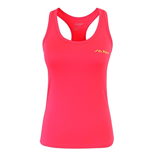 Summit Glory Women's Workout Quick Dry Yoga Fitness Racerback Tank Top OrangeXL For Sale