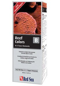 Red Sea Reef Colors B Supplement (Potassium) - 500ml (Sea Reef Red Lab)