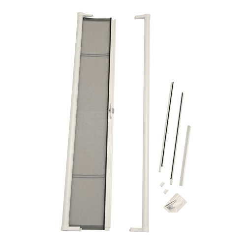 ODL Brisa BRSLWE White Retractable Screen Door for Sliding Doors