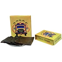 Amritsari Ampapar Kaala Ampapar (Large) Tasty, Healthy and Prepared and Packed Under Hygienic Conditions - Pack of 3