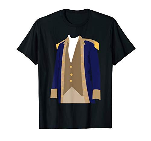 Colonial American Alexander Hamilton Costume T-Shirt -