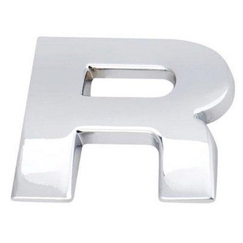 Alphabet Pattern Car Sticker - TOOGOO(R)3D DIY Metallic Alphabet Sticker Car Emblem Letter Badge Decal, Silver - (Car Emblems Letters)