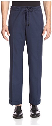 maison-martin-margiela-mens-s30ka0322-089-dropped-rise-pants-blue-46-us