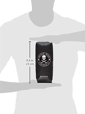 Death Wish Organic USDA Certified Whole Bean Coffee, 16 Ounce Bag from Death Wish Coffee Company