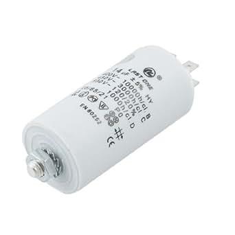 AC 450 V 14 uf 8 mm rosca lavadora condensador de funcionamiento del Motor