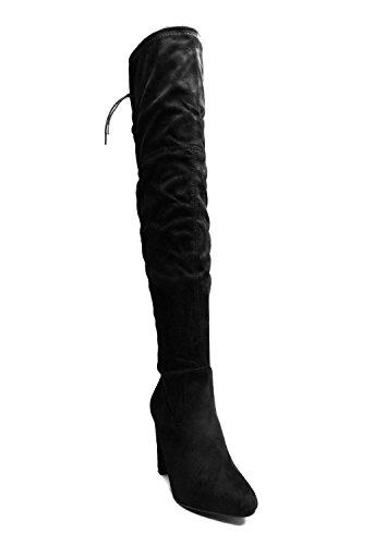 pour Bottes Bottes Noir Femme SheLikes pour Femme SheLikes qwIEv1X